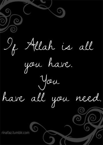 apa sesungguhnya yang kamu butuhkan?